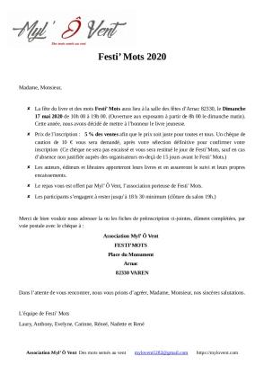 lettre d'accompagnt _Festi_mots2020